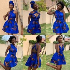 South Africa's home of modern African print fashion. African Bridesmaid Dresses, African Wear Dresses, Ladies Dresses, Brown Summer Dresses, South African Traditional Dresses, Dress Websites, Flowing Dresses, African Print Fashion, Types Of Dresses