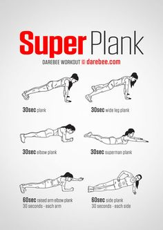 """5 """"Skinny Jeans Approved"""" Abs Exercises for Women – Fitness & Your Health Best Ab Workout, Plank Workout, Abs Workout For Women, Ab Workout At Home, Boxing Workout, Workout Videos, At Home Workouts, Cycling Workout, Best Core Workouts"""