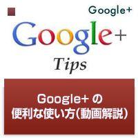 Google+の便利な使い方(動画解説など)|海外WEB戦略戦術ブログ : http://www.7korobi8oki.com/mt/archives/2011/08/googletips-newmediator10tips-10-essential-google-tips-tricks.html