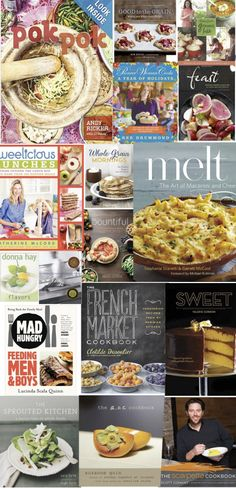 18 Awesome Cookbooks to give for the holidays!