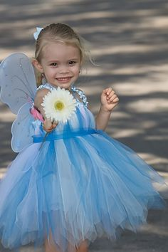 Blue Fairy Tutu dress #tutu #dress #halloween #costume #tinkerbell #fairy #silvermist