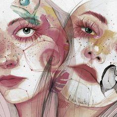 Ana Santos ilustra la feminidad en estado puro 6