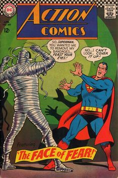Action Comics (1938 series) #349 (April 1967), Curt Swan pencils, George Klein inks