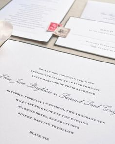 Black and white feels anything but basic in this crisp design.Sugar Paper