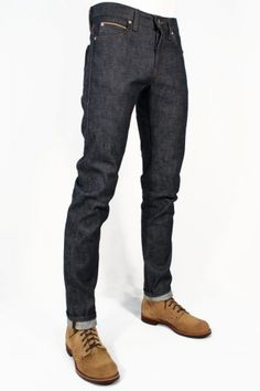Naked & Famous Denim Super Skinny Guy Chinese New Year - Earth Dog Japanese Selvedge Denim, Japanese Denim, Edwin Jeans, Minimal Wardrobe, Skinny Guys, Red Wing Shoes, Workout Accessories, Vintage Inspired Dresses, Raw Denim