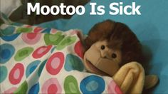 Mootoo and Declan: Mootoo Is Sick. Mootoo has Tellafibalitis! Up To Something, Little Monkeys, Tea Party, Books To Read, Sick, Teddy Bear, Entertaining, Children, Videos