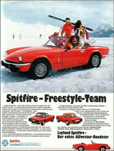 Triumph Spitfire - boring? A bit. But fun.