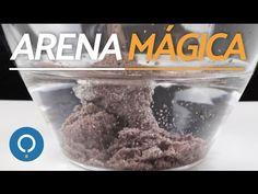 Cómo hacer ARENA MÁGICA - Arena que no se moja - YouTube