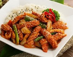 Korean Food | Ojinguh Dupbop | Spicy Squid Over Rice