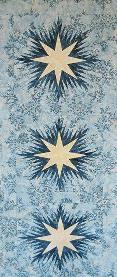 Winter Wonderlands Table Runner ~ Quiltworx.com, made by Certified Instructor, Jodie Madison