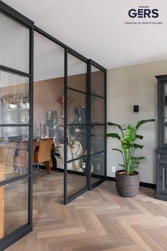 Office Interior Design, Office Interiors, Modern Interior, Kitchen Room Design, Home Decor Kitchen, Cornwall House, Wood Floor Design, Boutique Interior, Living Styles