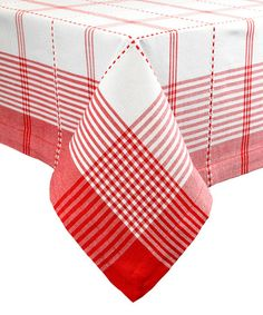 Another great find on #zulily! Large Radish Plaid Tablecloth #zulilyfinds