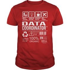 Awesome Tee For Data Coordinator T-Shirts, Hoodies. CHECK PRICE ==► https://www.sunfrog.com/LifeStyle/Awesome-Tee-For-Data-Coordinator-103811974-Red-Guys.html?id=41382