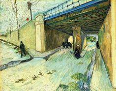 Patrimonio Industrial Arquitectónico: Imagen del día. The Railway Bridge over Avenue Montmajour