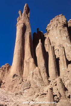 ˚Giant Salt Pillars in Valle de la Luna - Chile