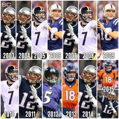 12 of the 13 last Super Bowls will have either featured Tom Brady, Peyton Manning, or Ben Roethlisberger.