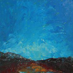 Kaitlin Kalan, 2010        Landscape study        12 x 12 in.        Oil on panel