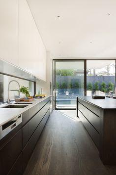 windows above kitchen cabinets australia - Google Search