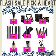FLASH SALE PICK A HEART  SEE WHAT FANTASTIC DEAL IS HIDING BEHIND #share #younique