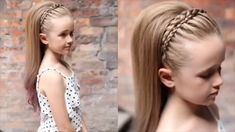 For more braid video tutorials just visit our website! Image Size: 640 x 360 Pin Boards Name: Hair Baby Girl Hairstyles, Pretty Hairstyles, Wedding Hairstyles, Headband Hairstyles, Girl Hair Dos, Cornrows, Hair Videos, Hair Hacks, Bridal Hair