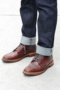 """Alden 405 the """"Indy boot"""""""