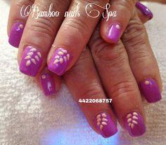 Uñas fiusha bamboo nails Spa vicky 4422068757
