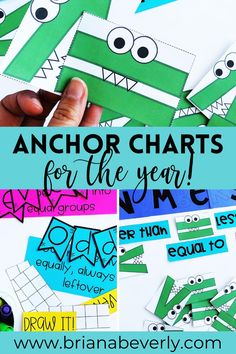 Prep all of your math 2nd grade anchor charts at once this summer! Make cute anchor charts to teach your students, but make them interactive and useful for your students! Grow your students in math, and have a pretty classroom with these math anchor charts. Math Enrichment, Fun Math Activities, Autumn Activities, Math Blocks, Math Anchor Charts, Primary Resources, Guided Math, Center Ideas, Student Learning