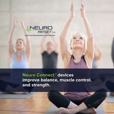 Our Neuro Connect™ devices offer innumerable benefits to those who want to improve balance, muscle and joint control, and strength. Health And Wellness, Infographic, Strength, Muscle, Technology, Life, Tecnologia, Tech, Health Fitness