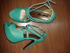 Zapato en verde hiervabuena en cuero alta gama calzado mambo calidad y comodidad