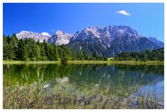 Am Luttensee Mittenwald, Germany