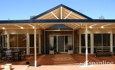 Spanlines high impact acrylic Spanlites® will give your home addition a relaxing atmosphere with increased natural light along with superior UV resistance Outdoor Rooms, Outdoor Living, Outdoor Decor, Free Standing Carport, Carports For Sale, Diy Pergola Kits, Screen Enclosures, Glass Room, Gable Roof
