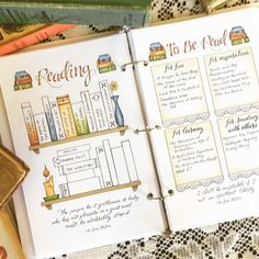 Studying Bookshelf Bullet Journal Unfold / Jane Austen Quotes / Obtain Printable PDF Planner Insert Hand Lettered Hand Drawn Coloring - Bullet Journal Spread, Bullet Journal Layout, Bullet Journal Inspiration, Journal Pages, Bullet Journal Bookshelf, Books To Read Bullet Journal, Bullet Journal Reading Log, Bullet Journal Ideas For Students, Bullet Journal Table Of Contents