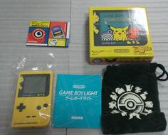 Game Boy Light Pikachu yellow beauty products _ image 3