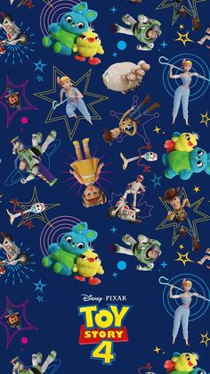 Cute Wallpapers Discover Go To Infinity And Beyond With These Disney and Pixar Toy Story 4 Mobile Wallpapers Disney Pixar, Disney Toys, Disney Cartoons, Disney Art, Disney Phone Wallpaper, Cartoon Wallpaper, Iphone Wallpaper, Toy Story Movie, Toy Story Party
