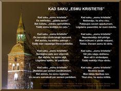 www.whenisayiamachristian.com    Latvian Translation Social Media Site, Christianity, Poems, Author, Sayings, Image, Lyrics, Poetry, Writers