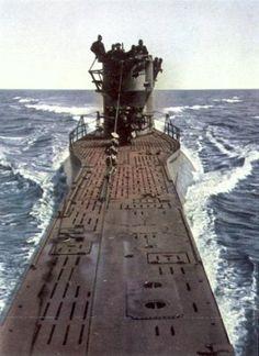 German submarine U-386...