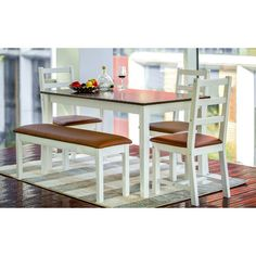 You'll love the 5 Piece Dining Set at Wayfair - Great Deals on all Furniture  products with Free Shipping on most stuff, even the big stuff.