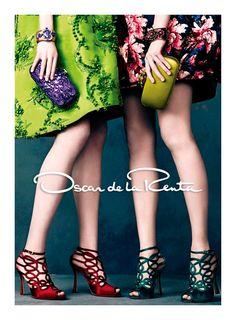 Campañas publicitarias moda otoño invierno 2013 2014 - Oscar de la Renta - Norman Jean Roy