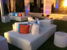 Event furniture is always a fun and unique touch. Furniture by AFR.