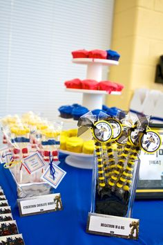 Transformers Birthday Party Ideas | Photo 21 of 69 | Catch My Party