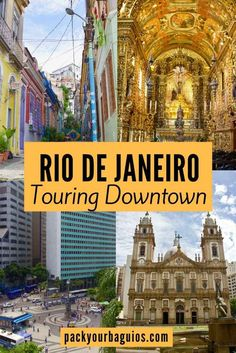 """Although Rio de Janeiro is known for its beaches, no visit would be complete without touring the downtown area. Referred to as """"Centro,"""" the downtown area of Rio is home to many tourist attractions. Centro is where Rio de Janeiro first started to grow. Nowhere is the diversity of cultures more evident than in the architecture of Rio's many historical buildings. Within the same block, you can see examples of European, American, and Latin influences."""