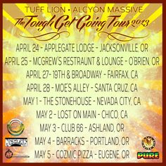 Eugene, OR Last chance to catch the tour that's got Cali's tongues a waggin'! Help Spread The Word In Your local area ... There's a Train comin' Thru!!    Click on the flyer for more dates & locatio… Click flyer for more >>