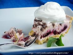 Cherry Cheescake Ice Cream Pie