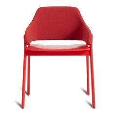 Clutch Dining Chair – Modern Dining Chairs - Red