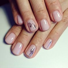 Looking for the best nude nail designs? Here is my list of best nude nails for your inspiration. Check out these perfect nude acrylic nails! Nail Art Cute, Nail Pictures, Nagellack Trends, Short Nails Art, Minimalist Nails, Dream Nails, Super Nails, Trendy Nails, Manicure And Pedicure