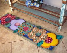 Diy Home Crafts, Decor Crafts, Fun Crafts, Sewing Crafts, Patch Quilt, Applique Quilts, Flower Quilts, Weaving Art, Quilt Stitching
