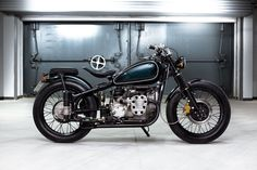 "Please meet ""Loki"", a Chang Jiang 750 (which is China's derivative of the Soviet IMZ M-72 which was a spin off of BMW's 1938 R71) built by Bandit9, a new custom shop out of Beijing, China."