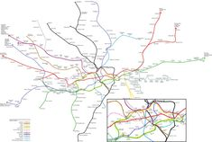 What The London Tube System REALLY Looks Like