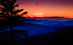 Smoky Mountain sunrise!