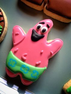 Patrick From our Sponge Bob Cookie Collection.